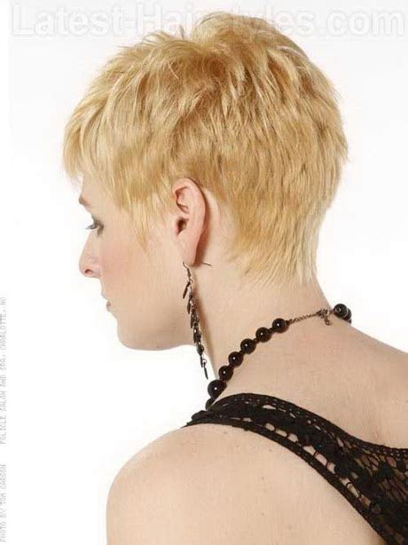 pixie cuts front and back view back view of short pixie hairstyles