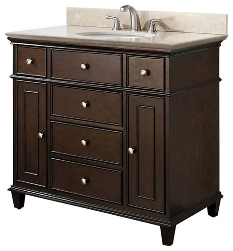 single sink vanities traditional los angeles by