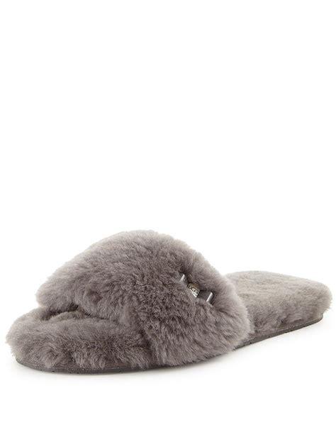 fluffy ugg slippers ugg australia fluff slide