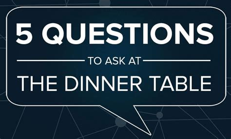 questions to ask at the dinner table 5 questions to ask at the dinner table mindvalley medium