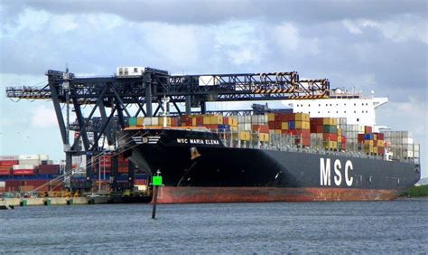 Mba Shipping Port Fl by Port Everglades Welcomes Its Container Cargo Ship