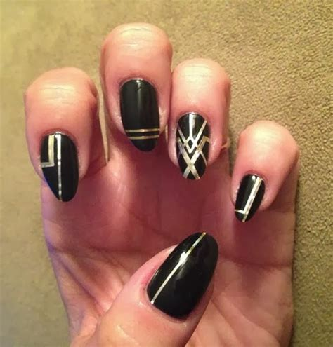 Striping Nailart nail striping ideas fashionate trends