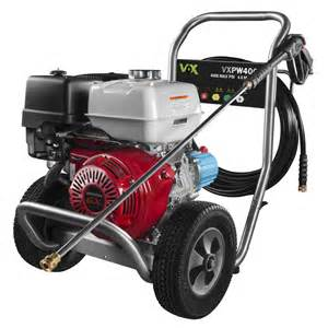 vox 4000 psi 4 gpm gas pressure washer with honda engine