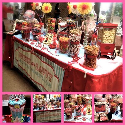 theme buffet names circus theme buffet and candy buffet on pinterest