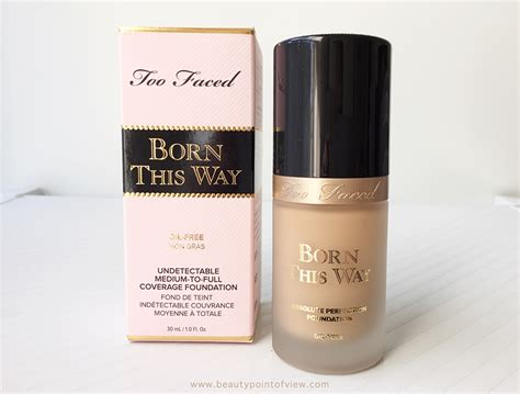 Foundation Faced Born This Way Faced Born This Way Foundation Point Of View