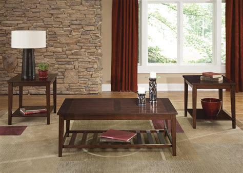 liberty furniture missoula 3 plank style table set
