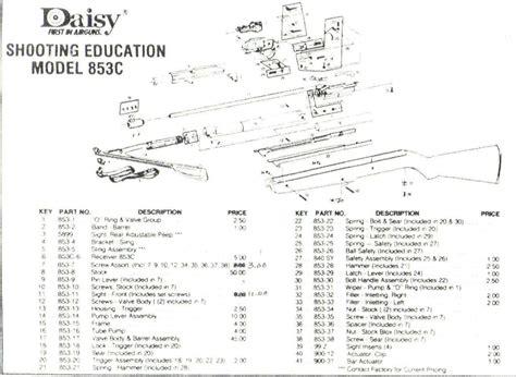 bb gun parts diagram 880 exploded parts diagram 856 parts diagram