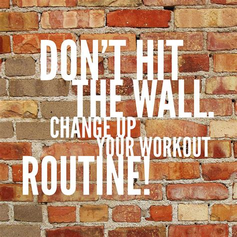 Tough It Out Or Adjust Your Workout by Weight Loss And Changing Your Routine