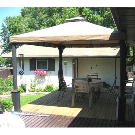 rona sunjoy    gazebo replacement canopy  netting