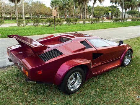 1985 lamborghini countach 5000 replica for sale in fort lauderdale florida united states