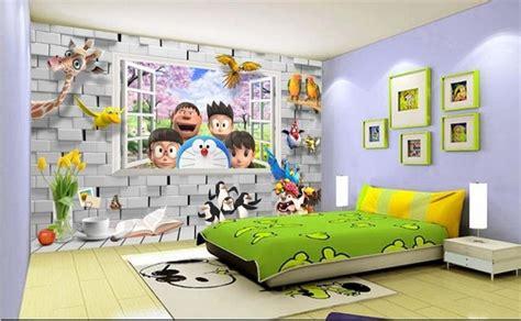 wallpaper doraemon untuk dinding kamar 7 gambar wallpaper dinding kamar tidur anak motif doraemon