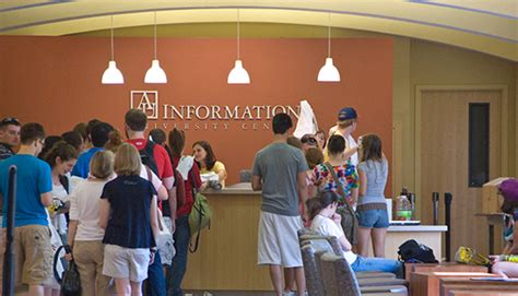 Office Of Finance And Treasurer American University Student Center Information Desk