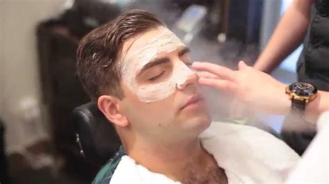 best facial treatment for men regal barbers men s facial youtube