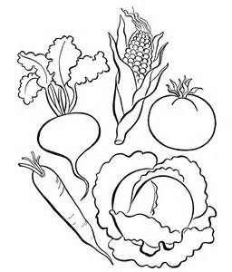 vegetables coloring pages pictures of vegetables to color az coloring pages