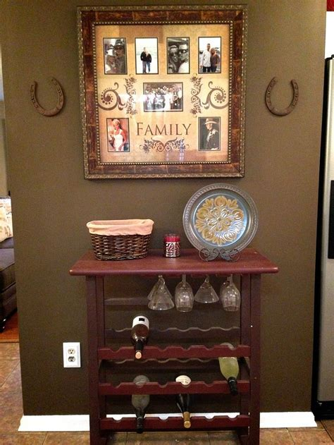 diy country kitchen decor refinished painted wine rack diy kitchen country