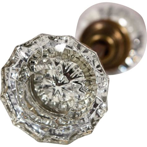 Antique Door Knobs Glass Antique Fluted Glass Door Knob Sets From Preservationstation On Ruby