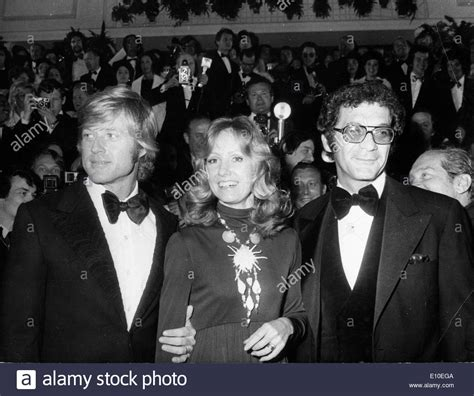 sydney pollack pictures actor robert redford his wife lola and sydney pollack