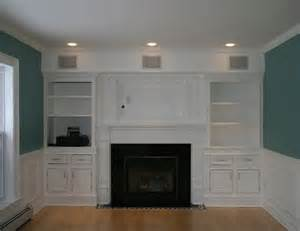 wall entertainment center with fireplace house
