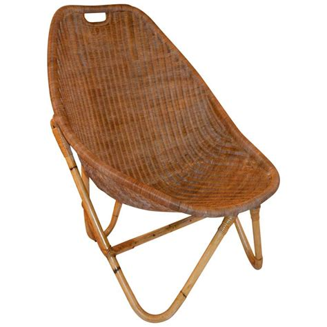 1960s bamboo and rattan chair for sale at 1stdibs