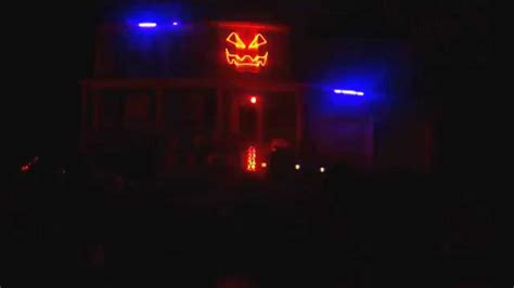 Halloween Light Show 2014 Weird Science Updated Youtube Light Shows 2014
