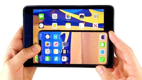 iphone xs max   replace ipad mini youtube