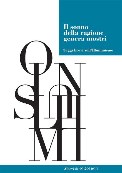 saggio breve illuminismo italiano calam 233 o saggi sull illuminismo