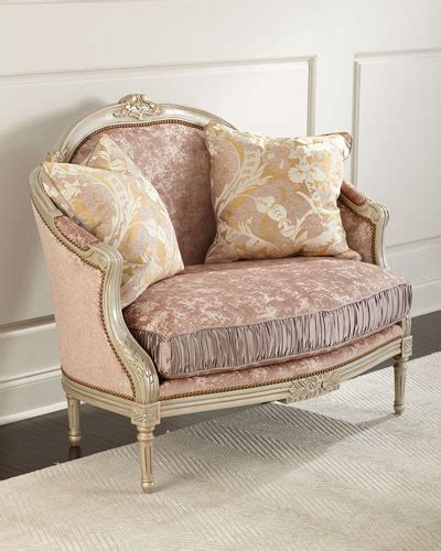 horchow settee designer settees chaises at neiman marcus horchow