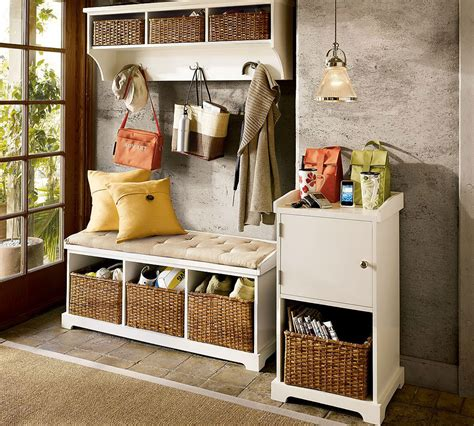 Entry Way Storage Bench by