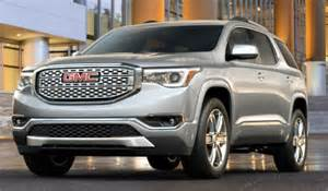 gmc acadia colors 2017 gmc acadia release date redesign specs colors