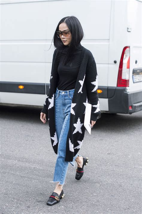 Flatshoes Loafers Guci Milan Slip On Guci Slippers Hitam gucci shoes dominate milan fashion week style photos footwear news
