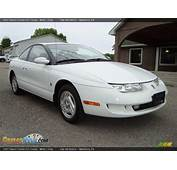 1997 Saturn S Series SC2 Coupe White / Gray Photo 2