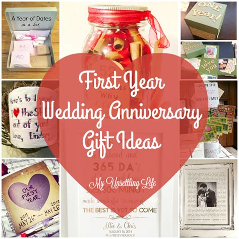 1st Wedding Anniversary Ideas by My Unsettling Year Wedding Anniversary Gift Ideas