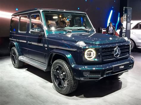 Mercedes G News by Here S How Amg Helped Develop The All New Mercedes G Class