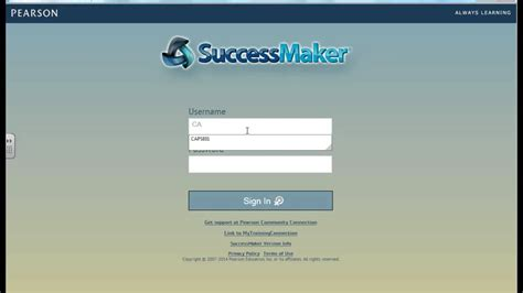 successmaker access from home
