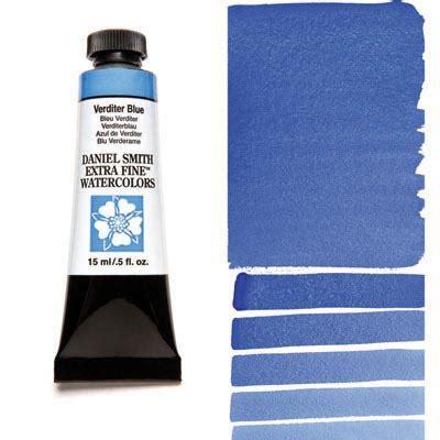 verditer blue verditer blue 15ml tube daniel smith extra fine