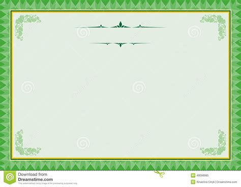 background templates for certificates certificate background templates4 stock vector image