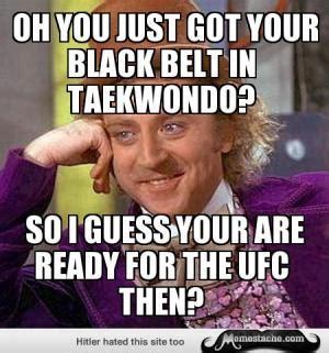 Taekwondo Memes - taekwondo jokes kappit