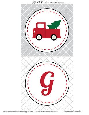 printable joy banner free printables christmas quot give joy quot vintage red truck