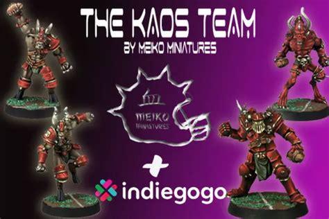 Kaos Second 10 meiko miniatures kaos team bei indiegogo br 252 ckenkopf