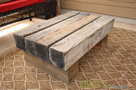 Sofa Dari Kayu reclaimed railroad tie coffee table back yard outdoor coffee tables coffee and