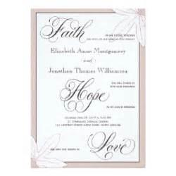 christian wedding invitations announcements zazzle co uk