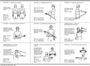 Rotator cuff exercises tubing exercises for baseball