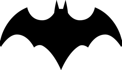 Batman Begins Symbol Outline Loading