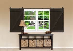 barn door window barn door z brace black open