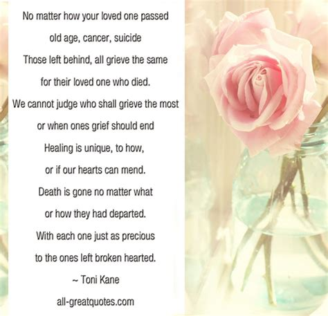 Message For Comforting A Friend No Matter How Your Loved One Passed In Loving Memory