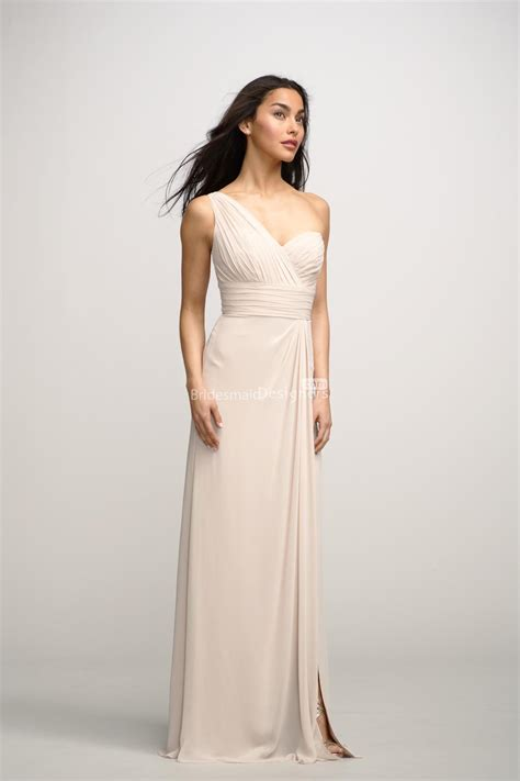 Chiffon Bridesmaid Dress by Beautiful One Shoulder Chiffon Bridesmaid Dresses
