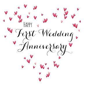 1st Wedding Anniversary by Marriage Anniversary Images Www Pixshark