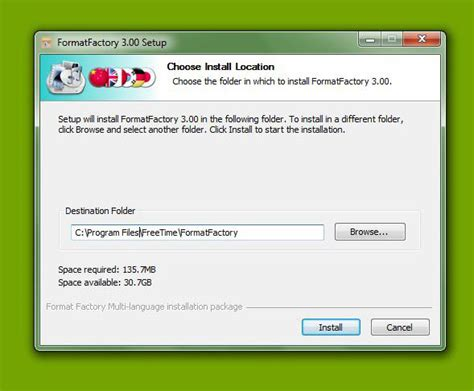 format factory codec pack cara menginstall format factory my live is tutorial