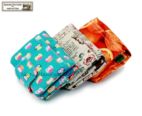 Handmade Wallet Pattern - trifold wallet sewing pattern wallet pattern tri fold