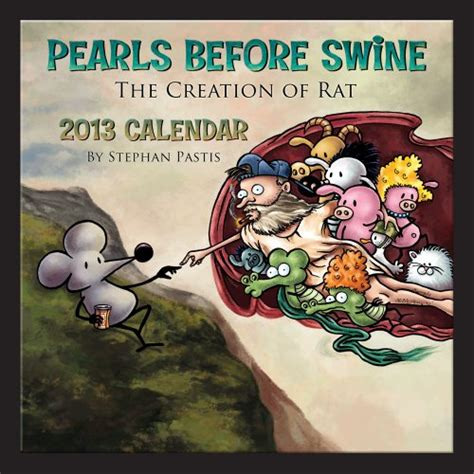 pearls before swine 2018 day to day calendar pearls before swine 2013 wall calendar import it all